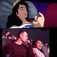 Fairytale Proposal: Animated Couple Star as the Prince and Princess in 'Sleeping Beauty'